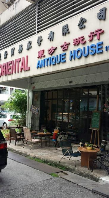 oriental antique house