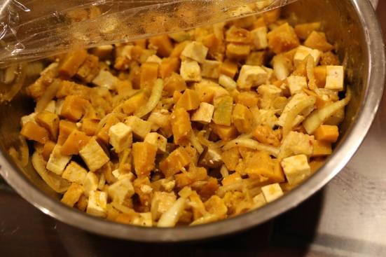 pumpkin tofu