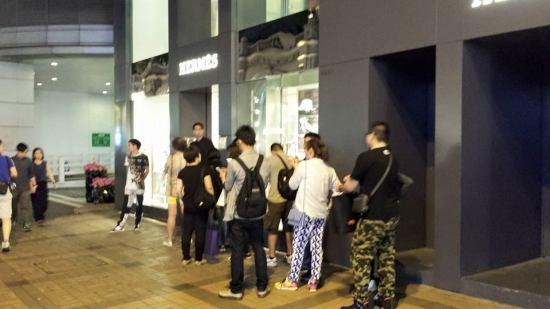queues at hermes