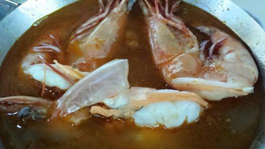S$15 big prawn noodles