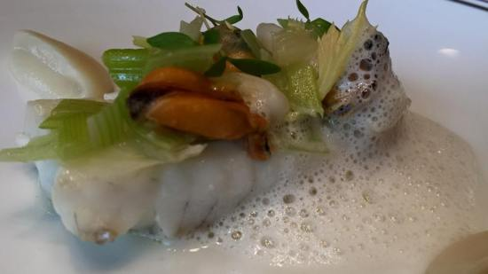 #3 sole with mussels & razor clams