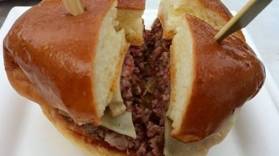 stellar's wagyu burger