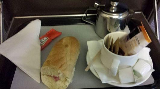 breakfast - bacon sandwich