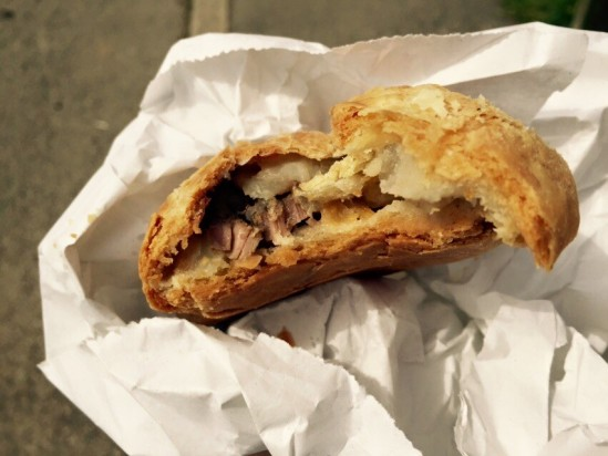 cornish pasty from ann's pasties