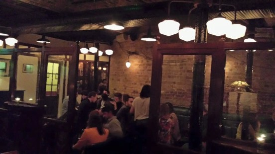 dishoom king's cross bar area