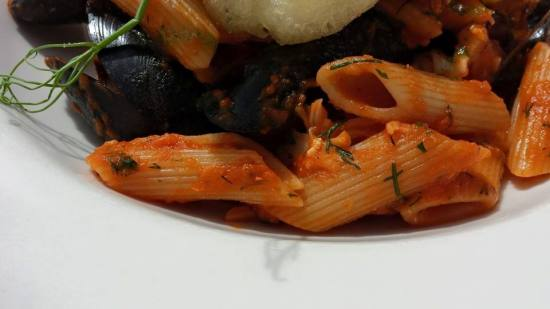 lobster seafood pasta