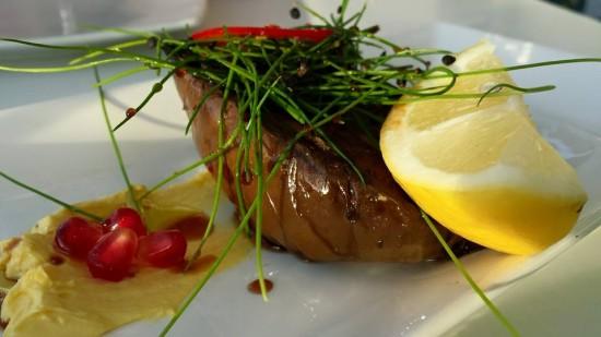 marinated aubergines