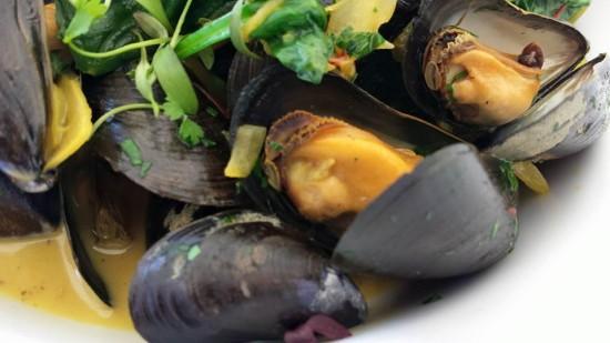 st ives porthminster's mussels