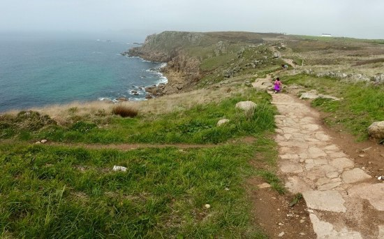 on the way back to sennen cove