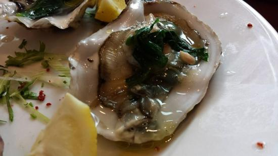 oysters £2ea
