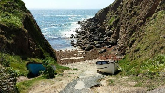 privately owned porthgwarra cove