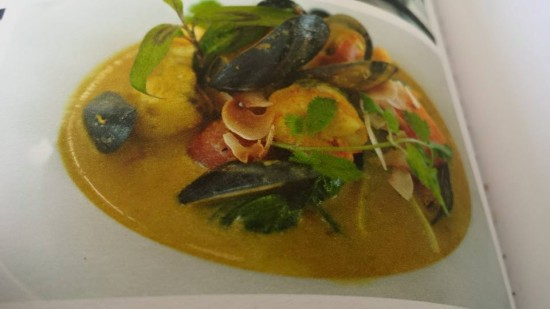 st ives porthminster chef michael smith's curry monkfish