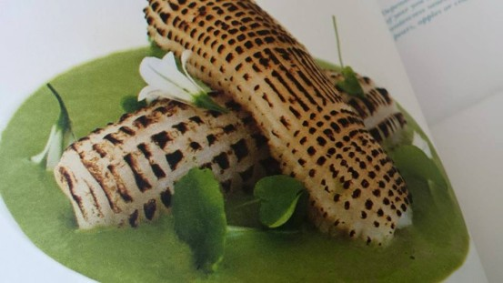 st ives porthminster chef michael smith's flamed squid