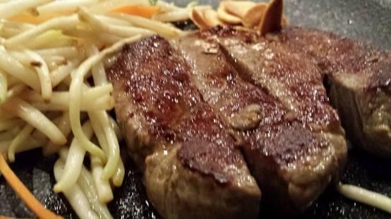 teppanyaki beef steak