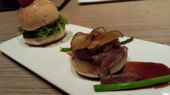 wagyu foie gras & mini burger