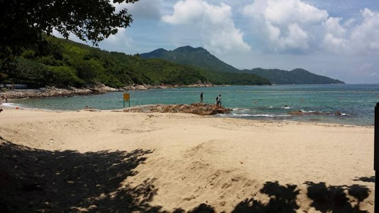 beach on the way to suk ku wan