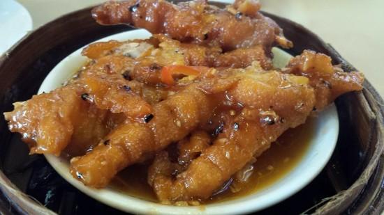 steamed chicken feet