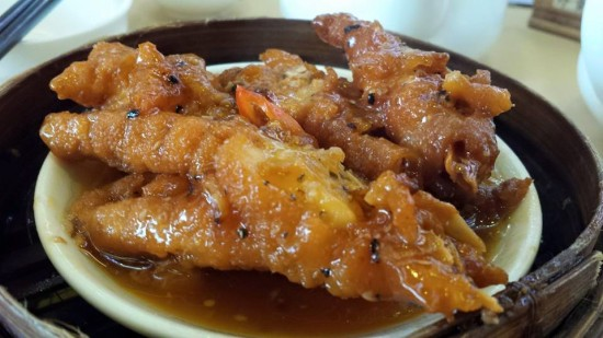 steamed chicken feet