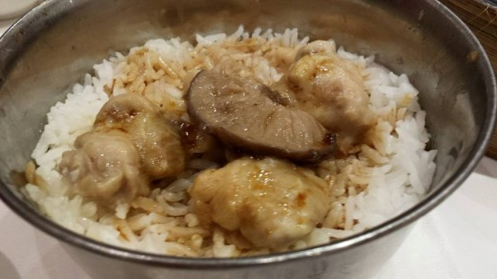 chicken mushroom rice (the poorest so far)
