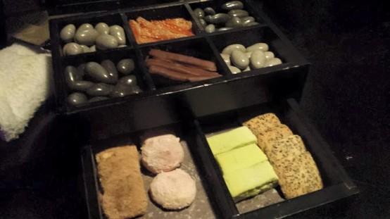 complimentary drawer dessert