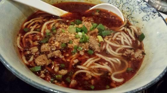 dan dan noodles 担担面