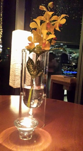 table decor - flower