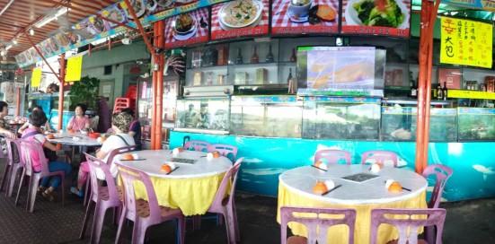 海龙王海鲜 on cheung chau island