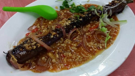 eggplant with minced pork (1 look) HK$68