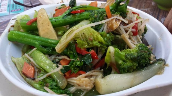 fried mixed veg HK$48