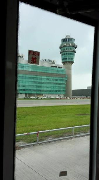 hong kong airport tower