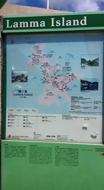 lamma island hike route