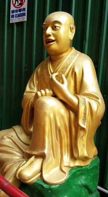 lohan statue