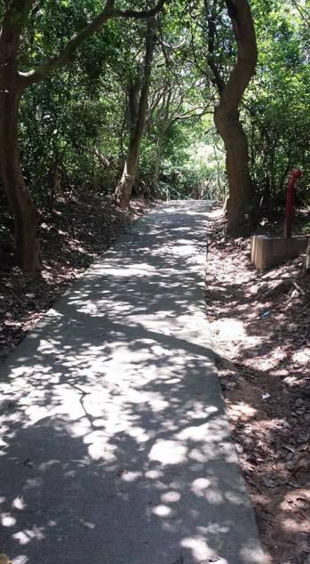 path going downto suk ku wan