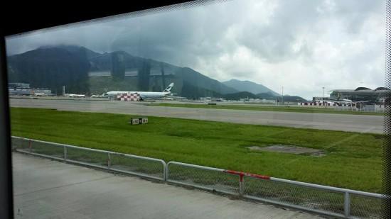 remote bay bus ferry at hong kong airport