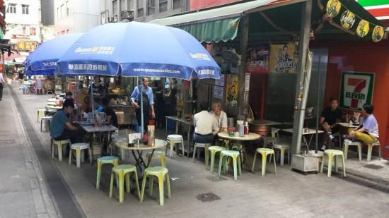 stall before shing kee daipaidong 盛记