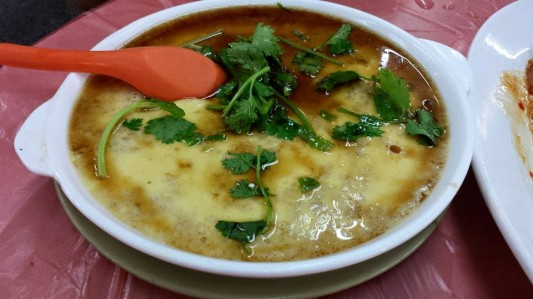steamed egg with minced pork HK$52