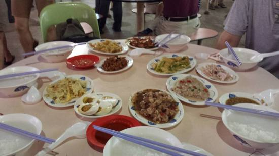 very good teochew muay S$43 for 7pax