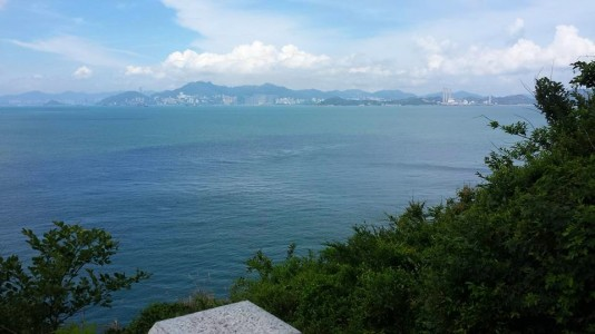 view from mini greatwall trail