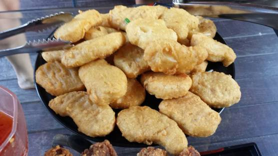 helper's chicken nuggets