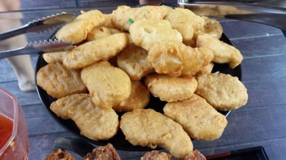 helper's chicken nuggets