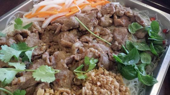 #2 vietnamese chargrilled pork cold beehoon
