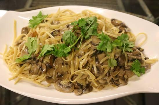 #10 funghi linguine