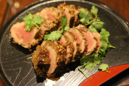 #3 oven roasted kurobuta medium rare