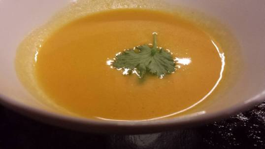 #4 cream of carrot soup