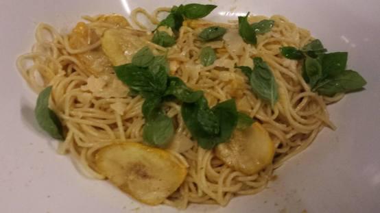 #5 spaghetti alla nerano (zucchini pasta)