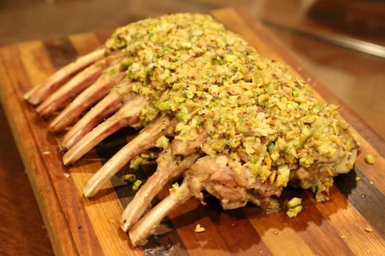 #9 pistachio rack of lamb