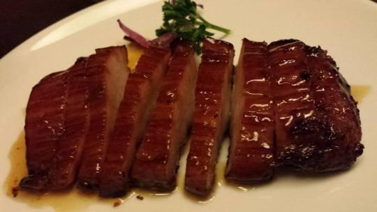 chargrilled pork collar 炭烧猪项肉