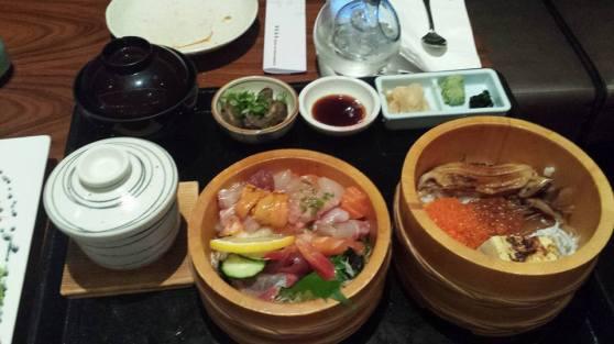 chirashi sushi zen set