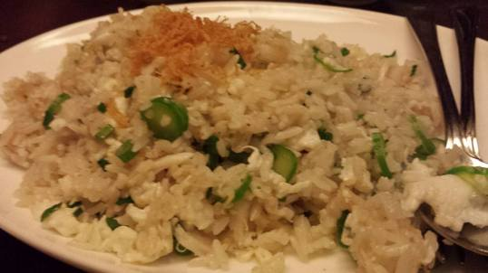 crabmeat dried scallop egg white fried rice