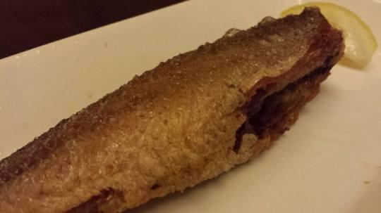 fried yellow croaker 煎小黄鱼